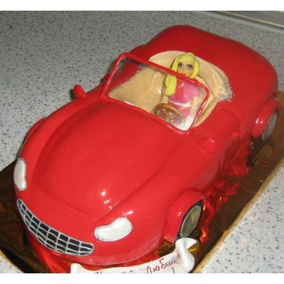 Торт кабриолет фото